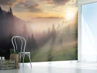 Fototapeta z zachodzącym słońcem: styl , w kategorii  zaprojektowany przez REDRO