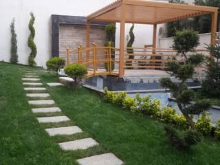 modernist peyzaj – 2: akdeniz tarzı tarz Bahçe