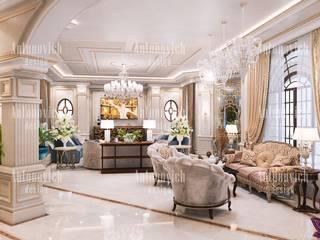 Living room by Luxury Antonovich Design,