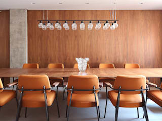 Dining room by Start Arquitetura, Minimalist