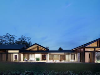 Casas modernas por TISSU Architecture Moderno