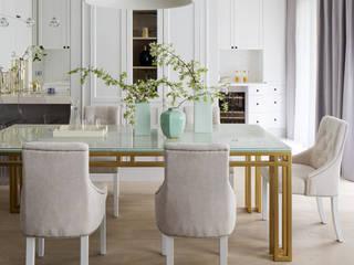 Salas de jantar clássicas por TISSU Architecture Clássico