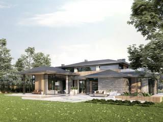 Villa de style  par TISSU Architecture, Moderne