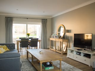Wembley Home Refurbishment Patience Designs Studio Ltd Living room