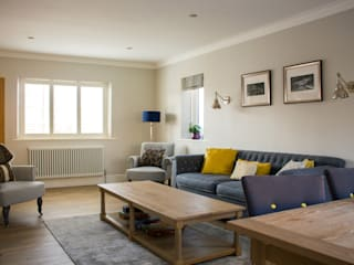Wembley Home Refurbishment Patience Designs Studio Ltd Modern living room