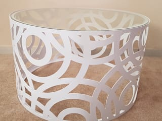Circles Coffee Table:   by Metallica Steel