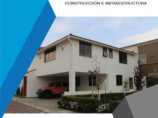 JOSMAR CONSTRUCCIÓN E INFRAESTRUCTURA Casas modernas Betão Branco
