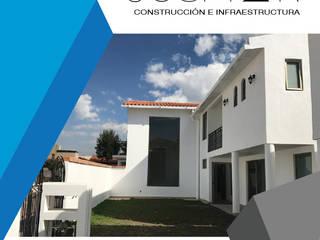 JOSMAR CONSTRUCCIÓN E INFRAESTRUCTURA Modern Houses Concrete White