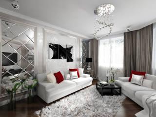 Дизайн квартир, домов, офисов: Гостиная в . Автор – студия дизайна интерьров ARK Design ('АРК Дизайн')