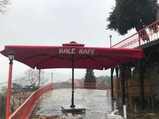 Akaydın şemsiye Modern Terrace Aluminium/Zinc Red