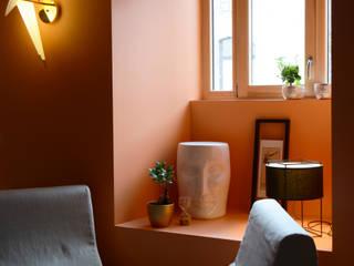 Salas de estilo ecléctico de Koya Architecture Intérieure Ecléctico