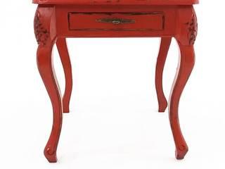 Revivigi SlaapkamerNachtkasten Massief hout Rood