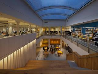 JKR Offices, London Bangunan Kantor Modern Oleh Claire Spellman Lighting Design Modern