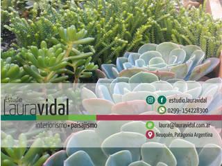 Corporativo de Laura Vidal Estudio de Paisajismo - Interiorismo