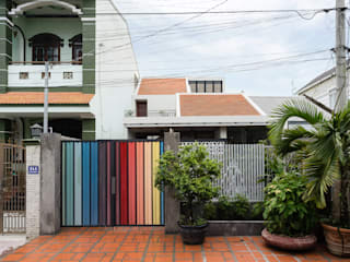Asian style houses by AD+ Asian