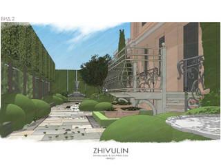 Уютный дворик:  в . Автор – ZHIVULIN DESIGN