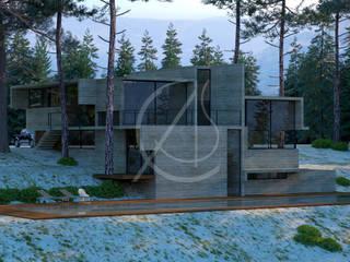 Neocribs Concrete Glass Modern Home Design by Comelite Architecture, Structure and Interior Design Modern