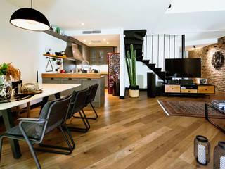 Boyman Arslan Architects – Teşvikiye Ev:  tarz Yemek Odası,