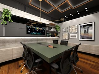 Study/office by Quadra 17 I Arquitetura e Interiores