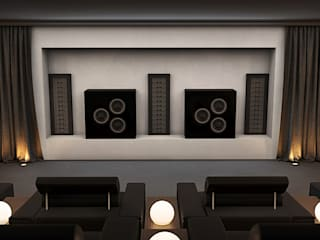 Home Cinema Room, Surrey UK Custom Controls Electronics