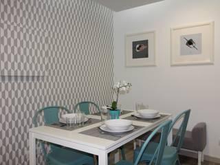 Passeio de bicicleta: Salas de jantar  por Joana Neto | Interiores,Minimalista