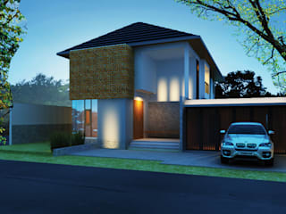 сучасний  by Kahuripan Architect, Сучасний