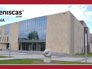 ARENISCAS STONE Centro congressi in stile classico Pietra Beige