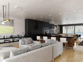 7Storeys Minimalist living room