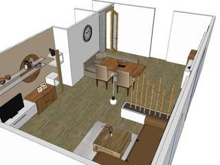 Salas de estilo moderno de VISUAL BUHO Homestaging & Redesign Moderno