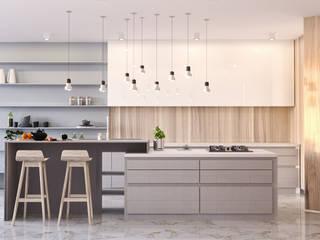 Дизайн Кухни: Кухни в . Автор – EPdesign