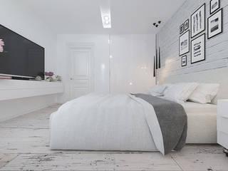 Спальни в . Автор – EPdesign