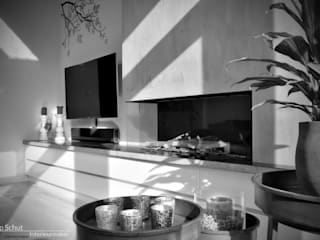 Joep Schut, interieurmaker Dining roomDressers & sideboards Wood White
