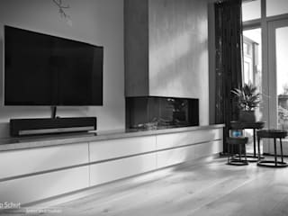 Joep Schut, interieurmaker Multimedia roomFurniture Wood Turquoise