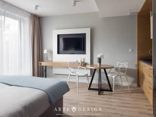 Pensjonat w Sopocie - apartamenty od Arte Dizain. Agnieszka Hajdas-Obajtek Nowoczesny