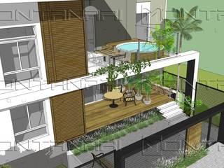 Дома на одну семью в . Автор – Montanari Arquitetura, Модерн