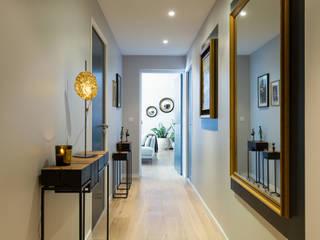 Appartement BORDEAUX Wilson Couloir, entrée, escaliers modernes par Julie Chatelain Moderne