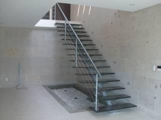 Escalera recta modelo MODENA HELIKA Scale Escaleras Madera Multicolor