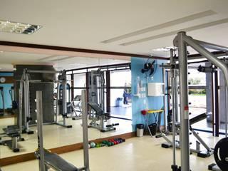 Joana Rezende Arquitetura e Arte Moderner Fitnessraum