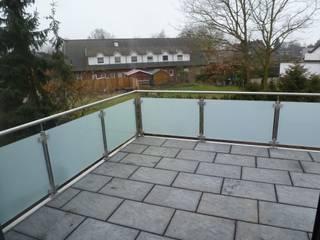 Glasgeländer:  Terrasse von Stefan Hauschild Metallbau GmbH