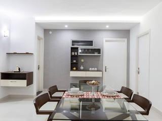 Completed Home Design:  Dining room by HomeLane.com