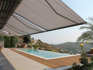 Śródziemnomorski balkon, taras i weranda od markilux Śródziemnomorski