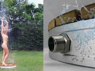 Outdoor Bodendusche für den Garten Mediterraner Garten von arcotec GmbH Mediterran