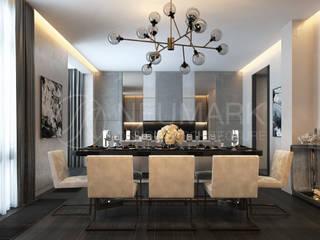 Dining room by Anton Neumark,