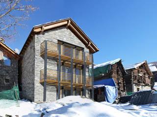 Passive house by Novello Case in Legno,