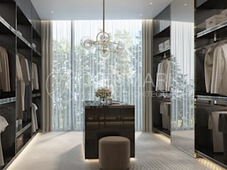 Closets de estilo minimalista de Марина Анисович, студия NEUMARK Minimalista