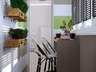 Landhaus Küchen von Студия интерьерного дизайна happy.design Landhaus