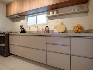 Dome arquitetura Kitchen units Wood Beige