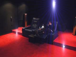 Sala Cinema, Home Theatre GS gestione sistemi S.r.l. Elettronica Nero
