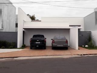 Terrace house by D' Freitas Arquitetura, Modern