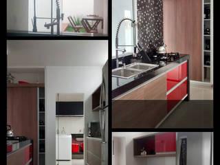 Kitchen by D' Freitas Arquitetura, Minimalist